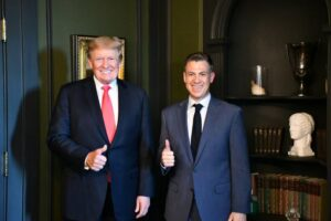 Banks Meets with Trump, Promises More Trumpism